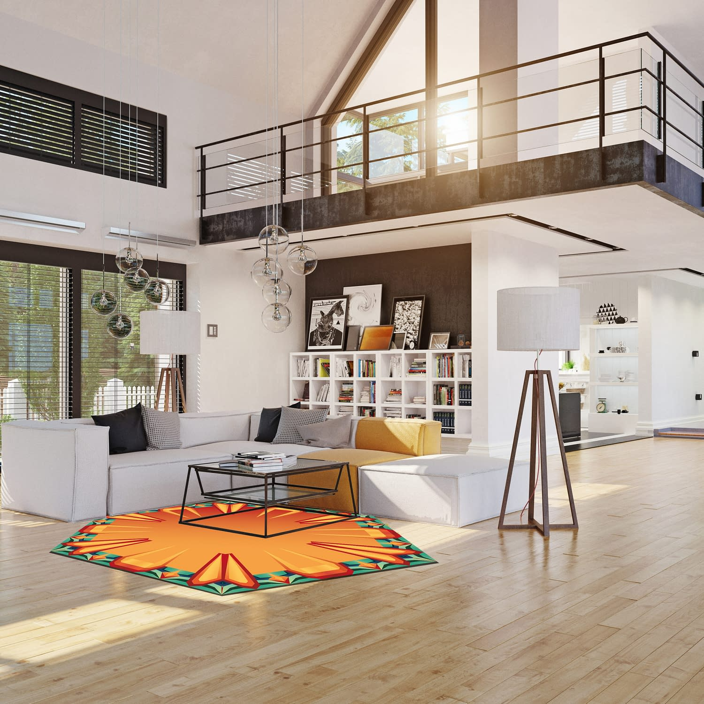 modern house interior. 3d rendering design concept