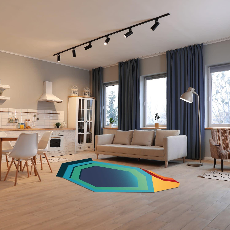 Modern kitchen interior with new stylish furniture
