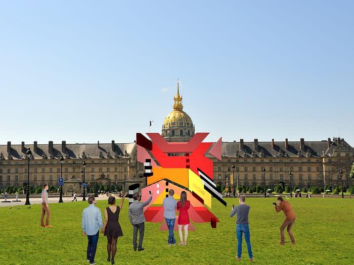 Esplanade des Invalides, Paris